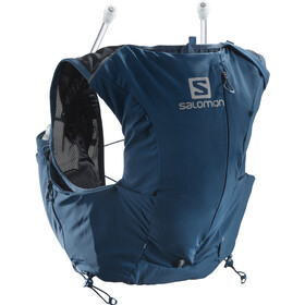Salomon Adv Skin 8 Backpack Set Dame poseidon/night sky